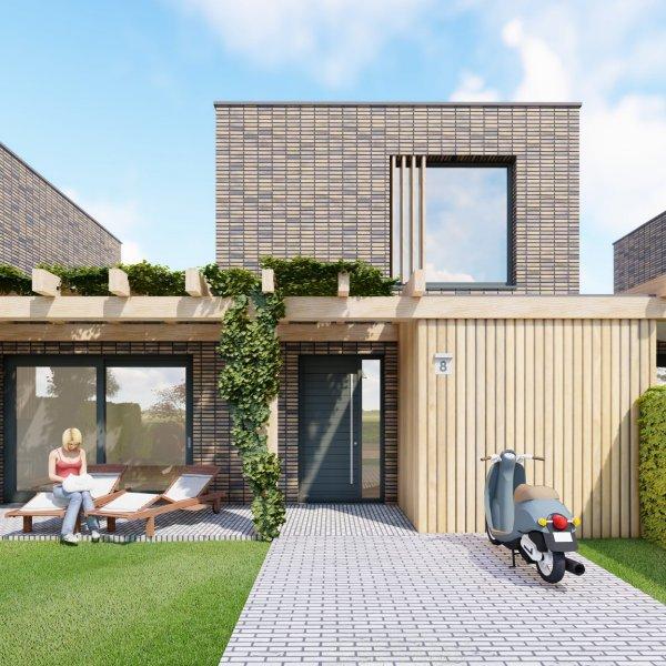 Nieuwbouwproject Meerstad Groenewei Vlek 6 in Meerstad