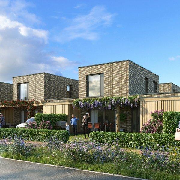 Nieuwbouwproject Wonen in de Groengaard in Meerstad
