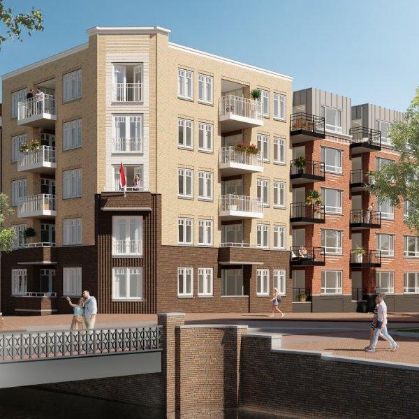 Nieuwbouwproject Aarkadekwartier fase 3 in Alphen aan den Rijn