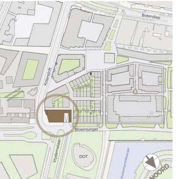 Nieuwbouwproject De Kroon op het Ebbingekwartier in Groningen
