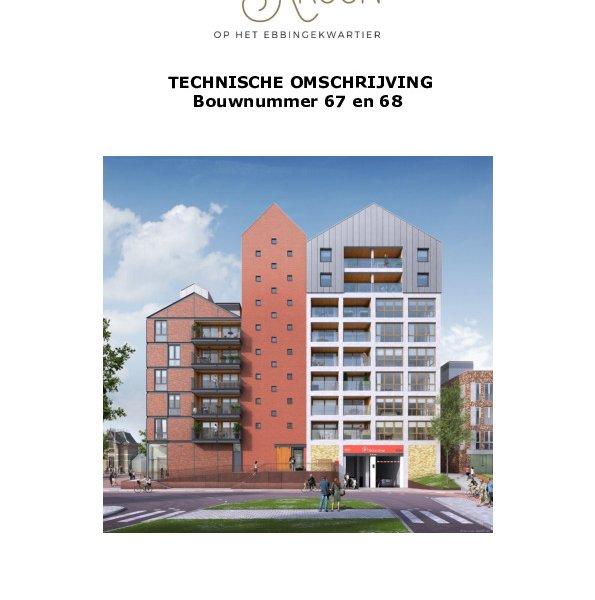 Technische omschrijving bnr. 67 en 68