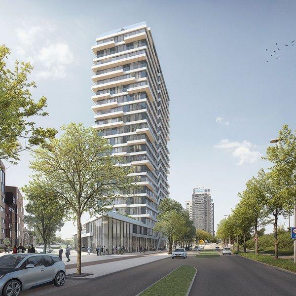 Nieuwbouwproject HAUT in Amsterdam