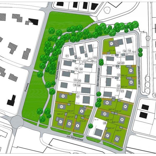 Nieuwbouwproject Nieuw Stalberg - fase 2 - 15 bouwkavels in Venlo