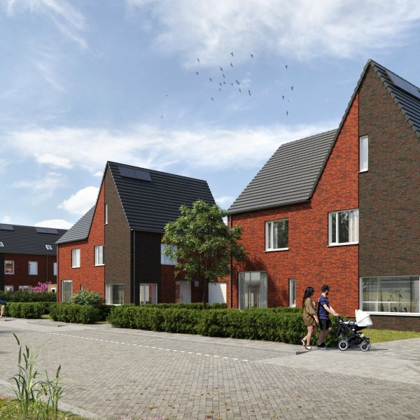 Nieuwbouwproject Slotgraven fase VIER in Hardenberg