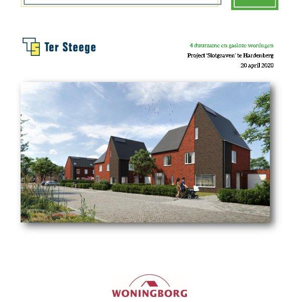 Technische omschrijving twee-onder-één-kap-woningen