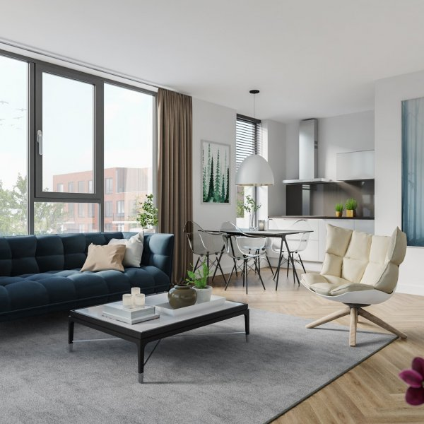 Nieuwbouwproject Rijnfort in Nieuwegein