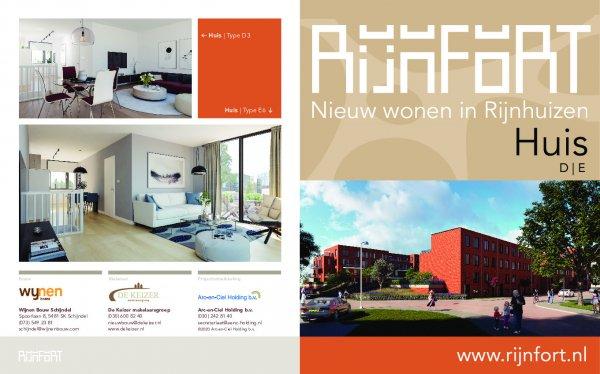 Flyer Rijnfort | Huis