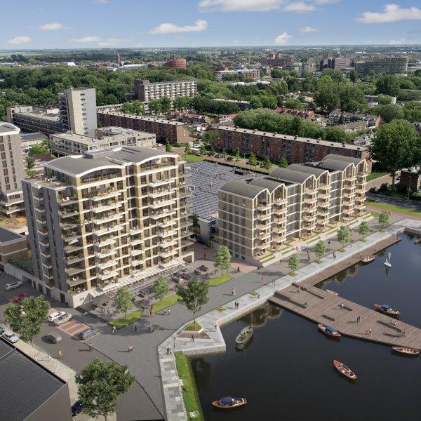 Nieuwbouwproject Havensuites in Alphen aan den Rijn