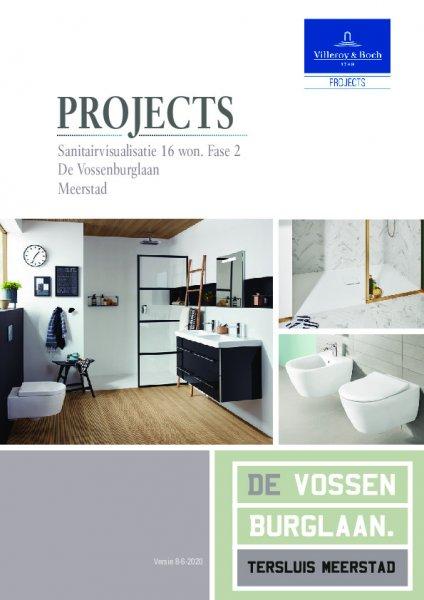 Brochure sanitair en tegelwerk