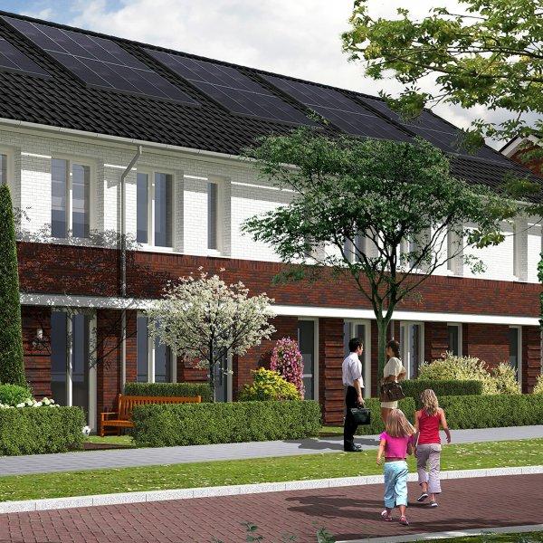 Nieuwbouwproject Hof van Leyland (Fase II - sociale koop) in Woerden