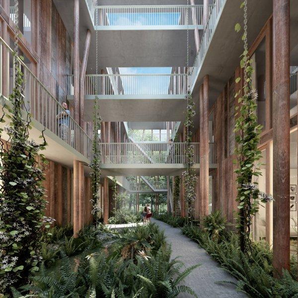 Nieuwbouwproject Eindhoven - Het Bosbad in Eindhoven