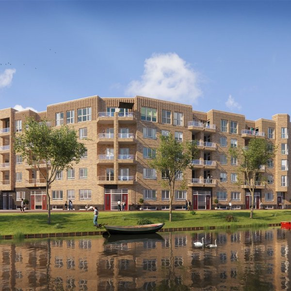 Nieuwbouwproject LEVEN IN LIFE - Amsterdam Houthaven in Amsterdam