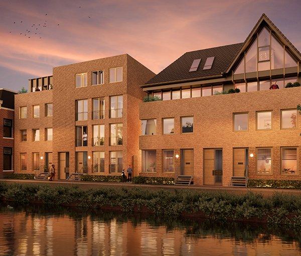 Nieuwbouwproject De Vierhoek in Haarlem