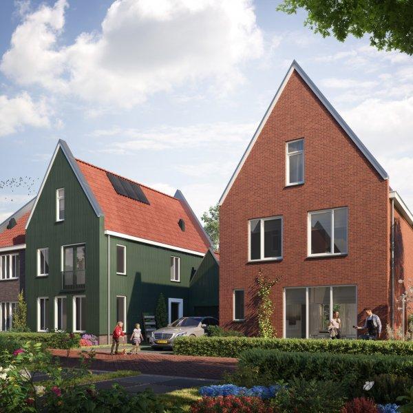 Nieuwbouwproject De Molenaer Fase 2 in Westzaan