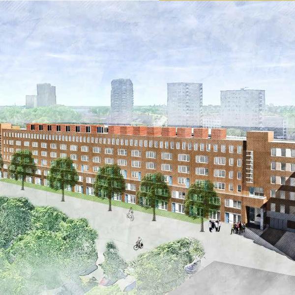 Nieuwbouwproject Het Sumatraplantsoen in Amsterdam