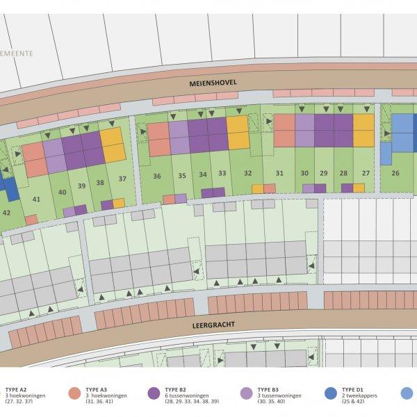 Nieuwbouwproject Bergeijk - Even Buiten fase 5 in Bergeijk