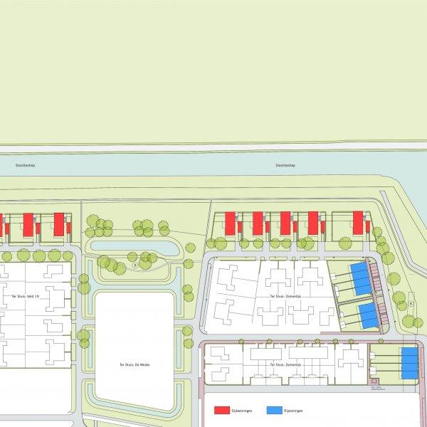 Nieuwbouwproject Dijkzicht | Tersluis in Meerstad