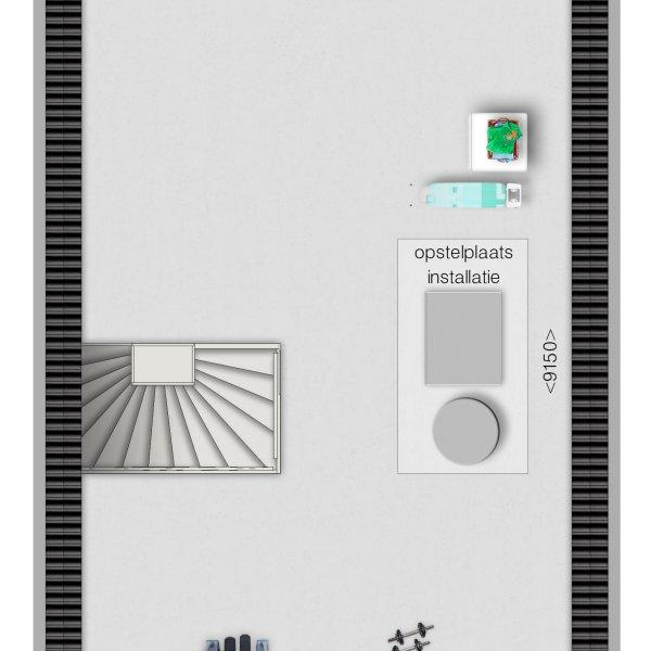 Tussenwoning en hoekwoning tweede verdieping