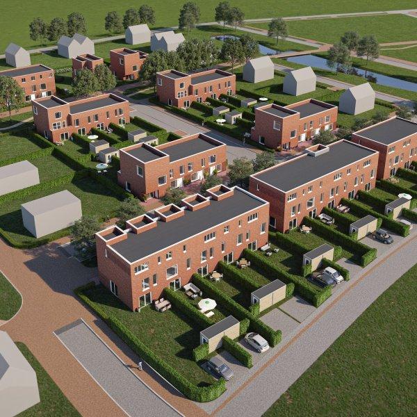 Nieuwbouwproject Kader Negen - Groenewei in Meerstad