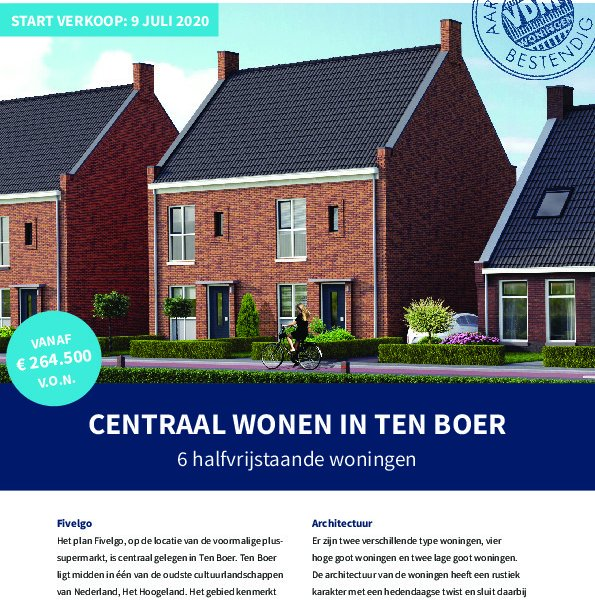Flyer Fivelgo ten Boer