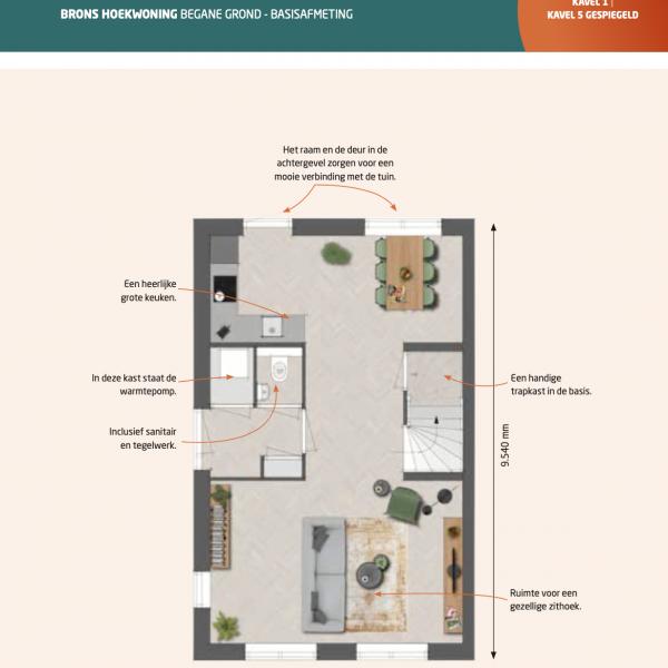 Nieuwbouwproject De Contreie Fase II (15 woningen) in Oosterhout