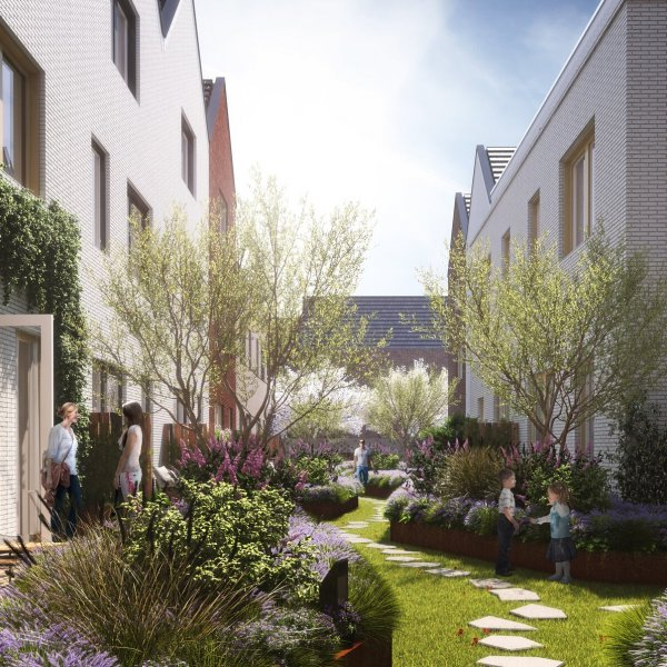 Nieuwbouwproject Sluiseiland Centraal in Vianen