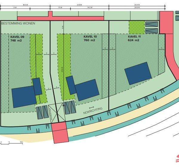 Nieuwbouwproject Den Bogerd bouwkavels in Udenhout
