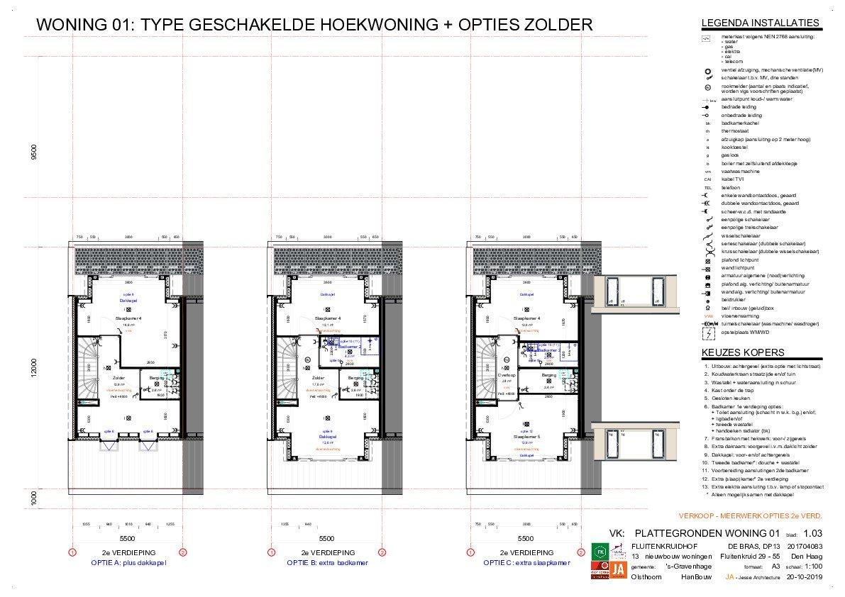 Optieplattegronden geschakelde woningen deel 2