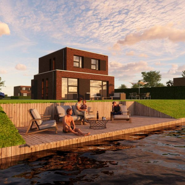 Nieuwbouwproject De Lagune | Blauwestad in Blauwestad