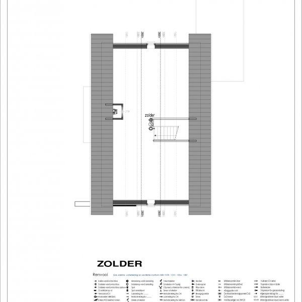 Plattegrond Zolderverdieping