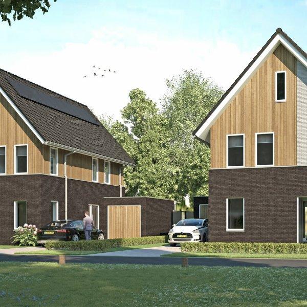 Nieuwbouwproject Bosvilla's aan de Brinklaan in Nooitgedacht