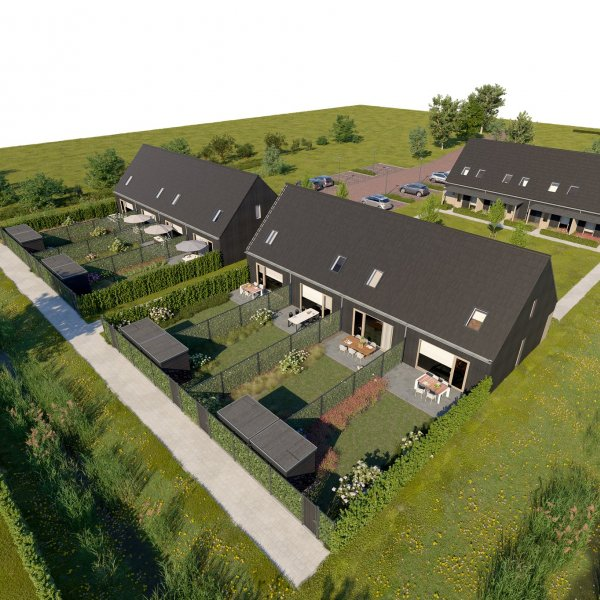 Nieuwbouwproject Hof van Overasselt in Overasselt