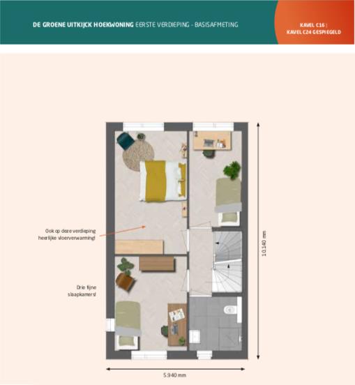 Nieuwbouwproject De Zwaaikom Fase I Roosdom Tijhuis (20 woningen) in Oosterhout