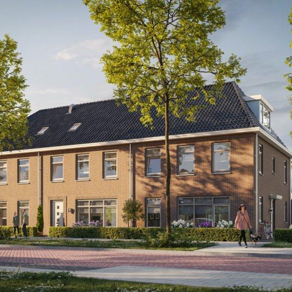 Nieuwbouwproject De Merelweg De Draai in Heerhugowaard