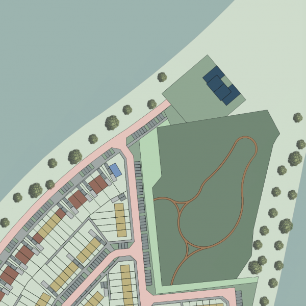 Nieuwbouwproject IN VOORBEREIDING: 48 Appartementen De Zwaaikom Fase II in Oosterhout
