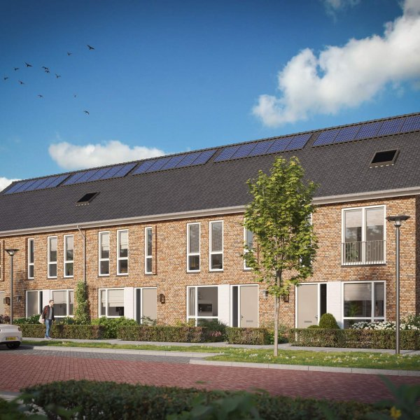 Nieuwbouwproject De Scheepskade: 24 woningen in De Zwaaikom (VABO) in Oosterhout