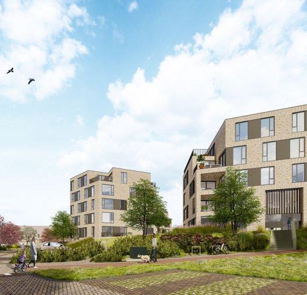Nieuwbouwproject Op de Terp appartementen - Lents Buiten - Gemeente Nijmegen in Lent