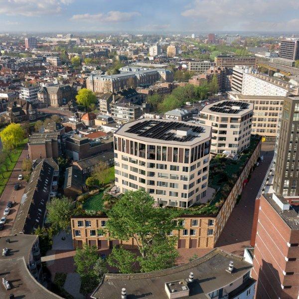 Nieuwbouwproject Octagon - Oost in Leiden