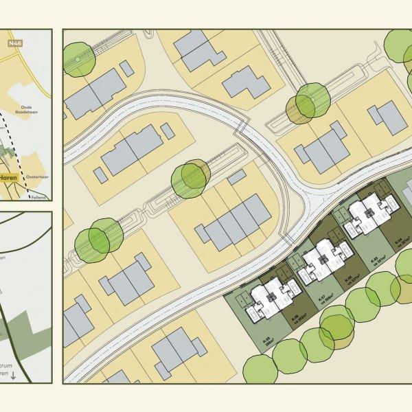 Nieuwbouwproject Kloostersingel in Haren Gn