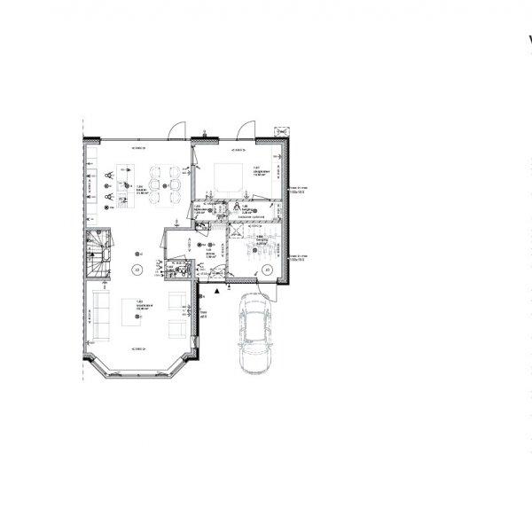 Meerwerk uitbouw garage en slaapkamer beneden