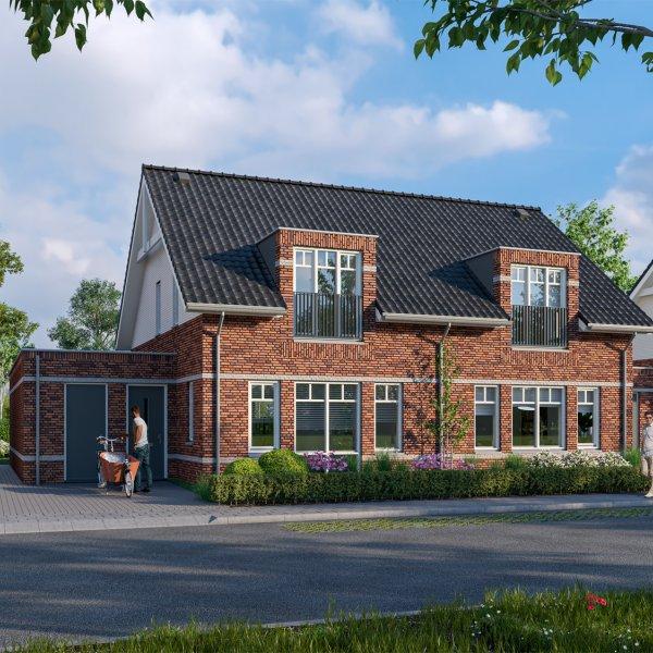 Nieuwbouwproject Tichellande 12 en 15 in Druten