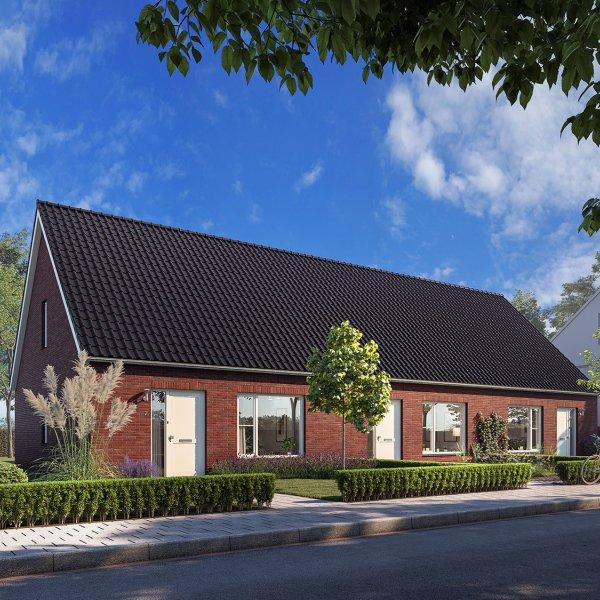 Nieuwbouwproject Levensloopbestendig wonen aan de Langedijk in Assen