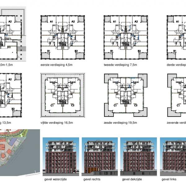 Plattegronden verdiepingen