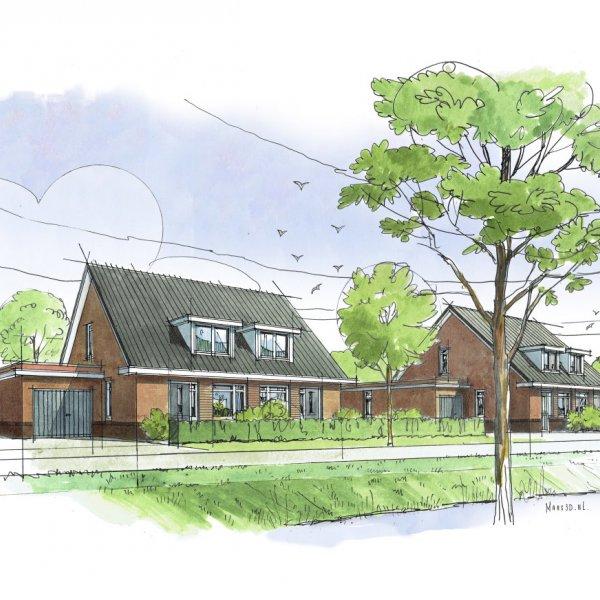 Nieuwbouwproject Den Elt Ewijk in Ewijk