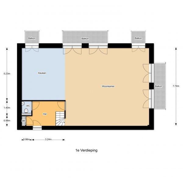 Nieuwbouwproject Centrumplan Vlijmen in Vlijmen
