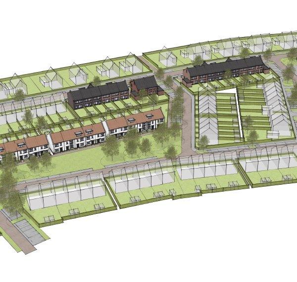 Nieuwbouwproject Marshoogte - Roosdom Tijhuis in Hardenberg