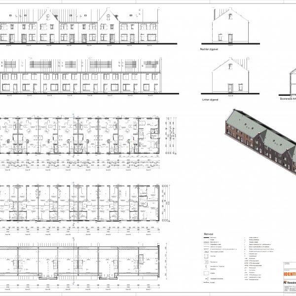 Verkooptekening bouwnr 81-89