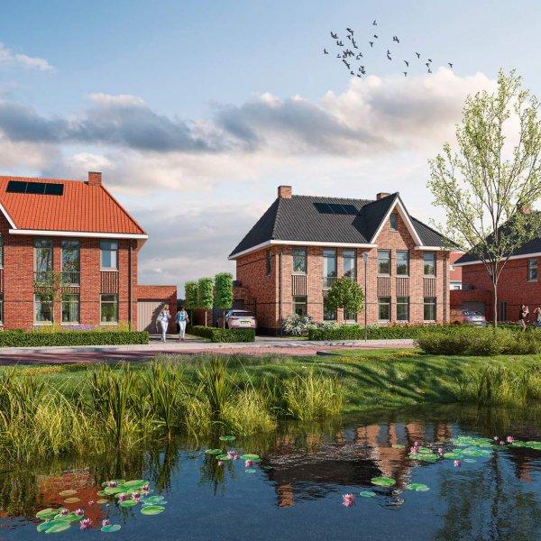 Nieuwbouwproject Wonen in Marshoogte in Hardenberg