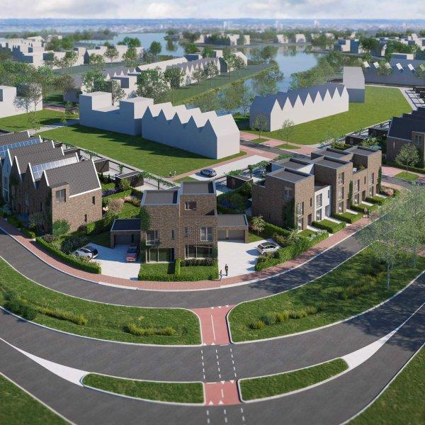 Nieuwbouwproject Driemaster de Zeilen | Meerstad in Meerstad
