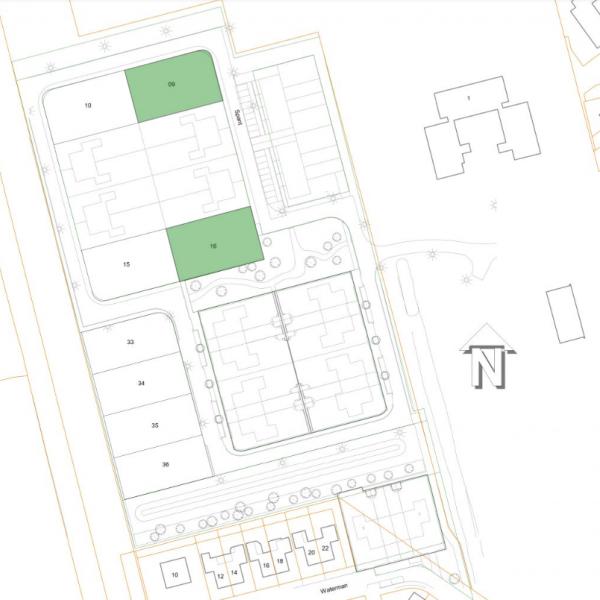 Nieuwbouwproject Vrijstaande woningen Tolbert in Tolbert